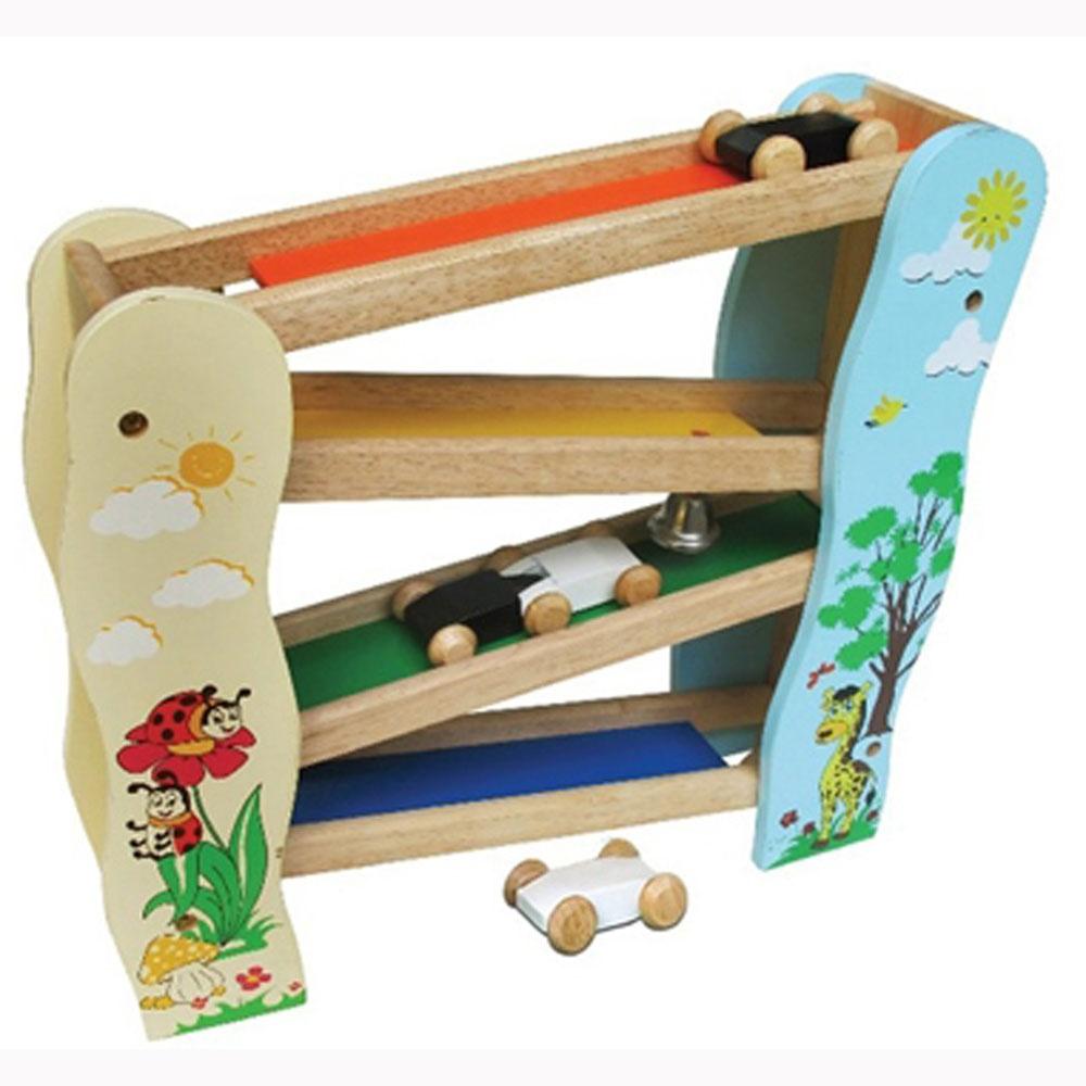 Đồ chơi gỗ - Trò chơi trượt xe 63092