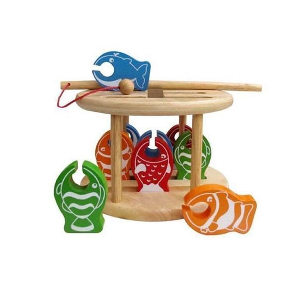 Đồ chơi gỗ - Thử thách câu cá Winwintoys 64362