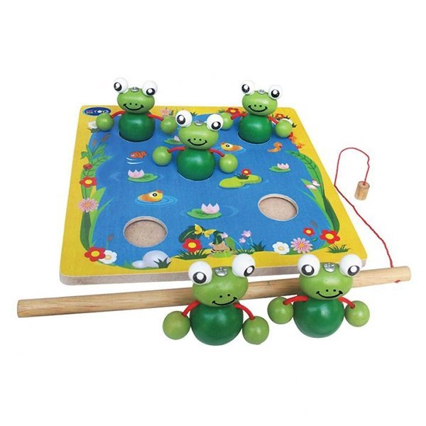 Đồ chơi gỗ - Câu ếch Winwintoys 65362