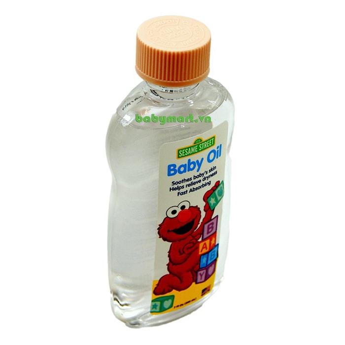 Dầu dưỡng ẩm cho bé Sesame Street 200ml