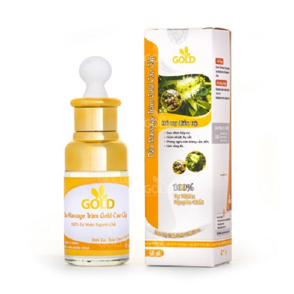 Dầu massage tràm Gold cao cấp 50ml