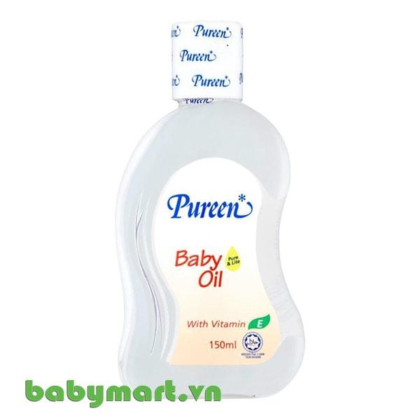 Dầu matxa và dưỡng ẩm Pureen 150ml