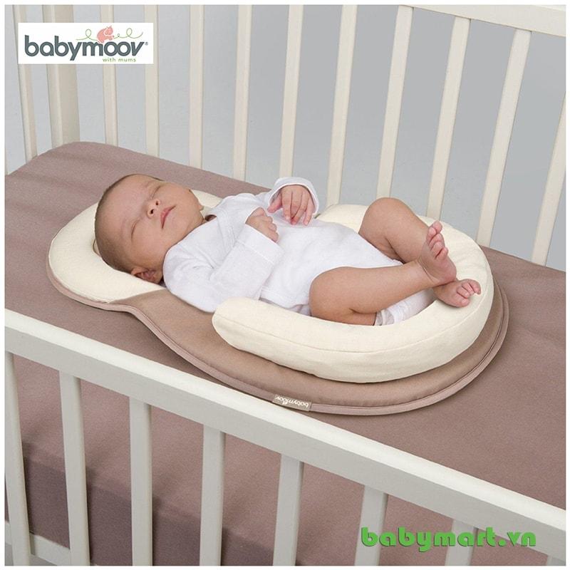 Đệm ngủ đúng tư thế Cosydream Babymoov màu be