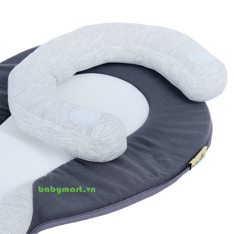 Đệm ngủ đúng tư thế Cosydream Babymoov màu ghi