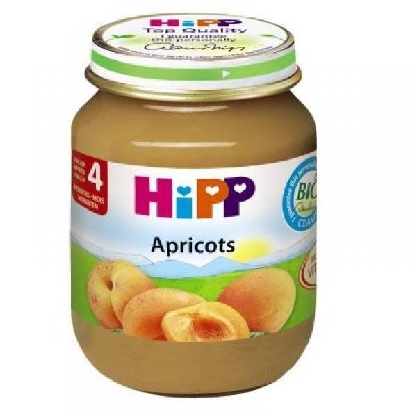 Dinh dưỡng đóng lọ Hipp - Mơ tây 125g