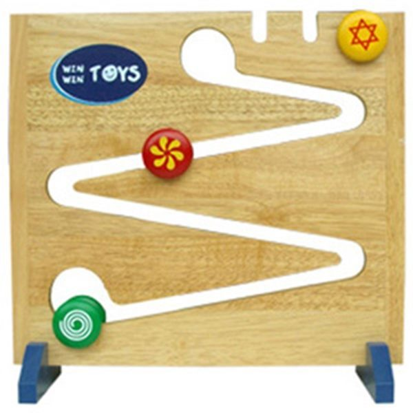 Đồ chơi gỗ -  3 con lăn