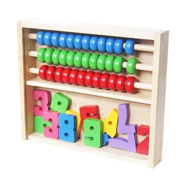 Đồ chơi gỗ - Bảng tính học toán 69112