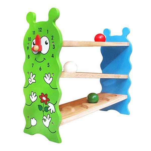 Đồ chơi gỗ - Banh lăn hình sâu Ziczac 67092
