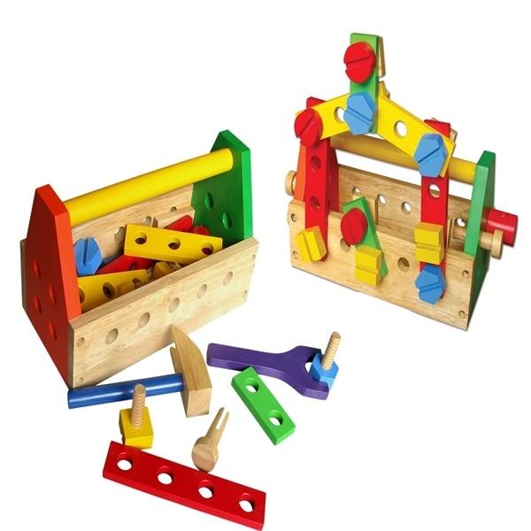 Đồ chơi gỗ - Bộ đồ nghề sửa chữa