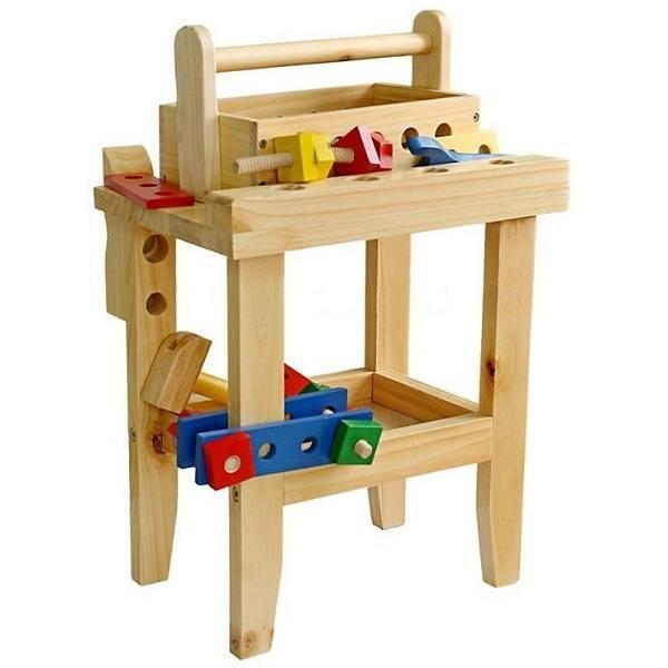 Đồ chơi gỗ - Bộ lắp ráp kỹ thuật