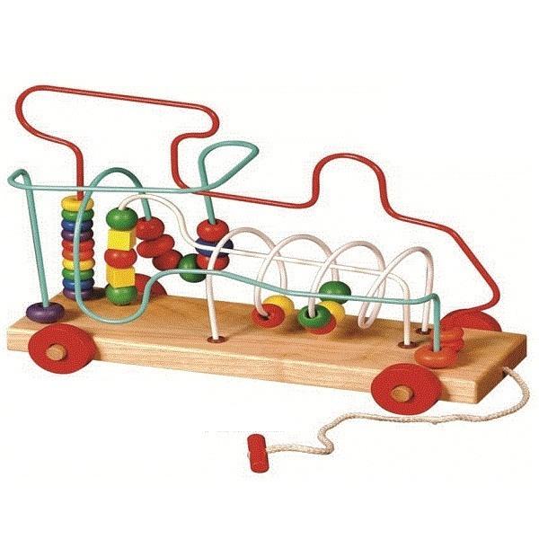 Đồ chơi gỗ - Bộ Luồn hạt phi thuyền