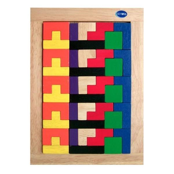Đồ chơi gỗ - Bộ xếp gạch Winwintoys 67152