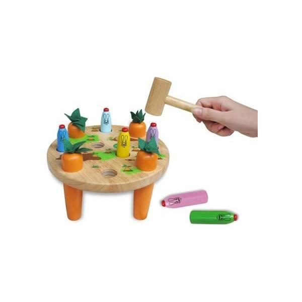 Đồ chơi gỗ - Búa đập thỏ 64192