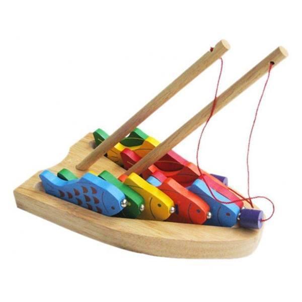 Đồ chơi gỗ - Câu 10 cá số 60362