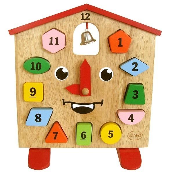 Đồ chơi gỗ - Đồng hồ King Kong 66042