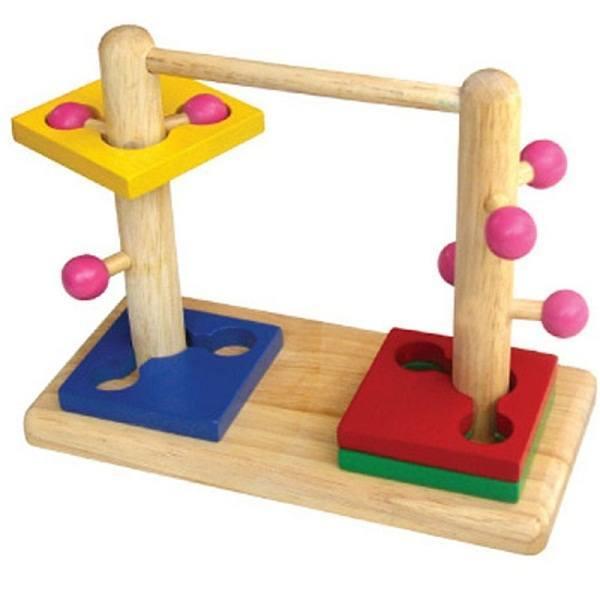 Đồ chơi gỗ - Đường luồn đôi 60352