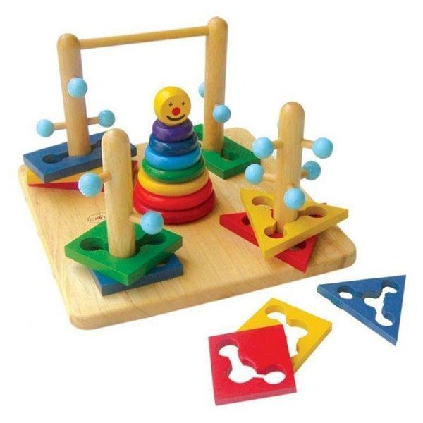 Đồ chơi gỗ - Đường luồn lý thú 65072