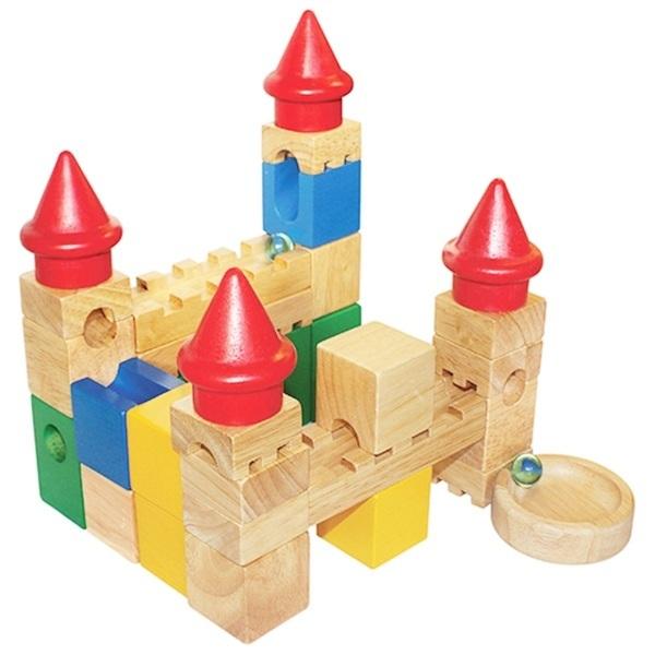 Đồ chơi gỗ - Lâu đài trượt bi 69522