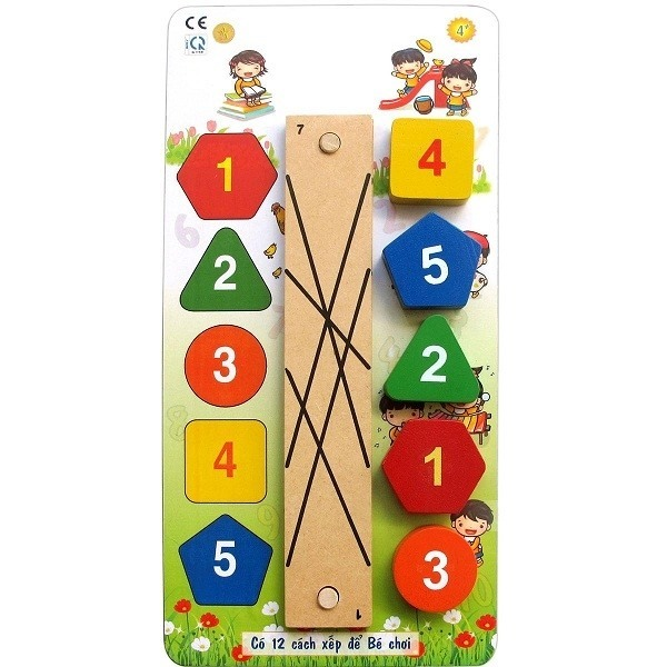 Đồ chơi gỗ - Nối đúng cặp 69042