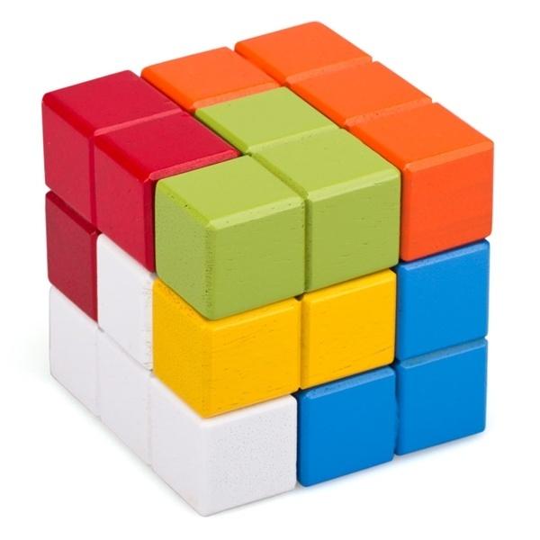 Đồ chơi gỗ - Rubik 7 màu 60132