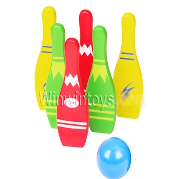 Đồ chơi gỗ - Trò chơi Bowling 68562