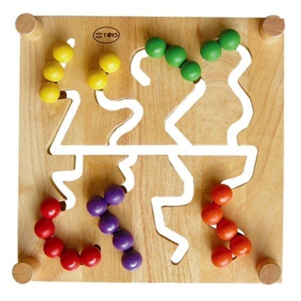 Đồ chơi gỗ - Trò chơi tìm đường 60212