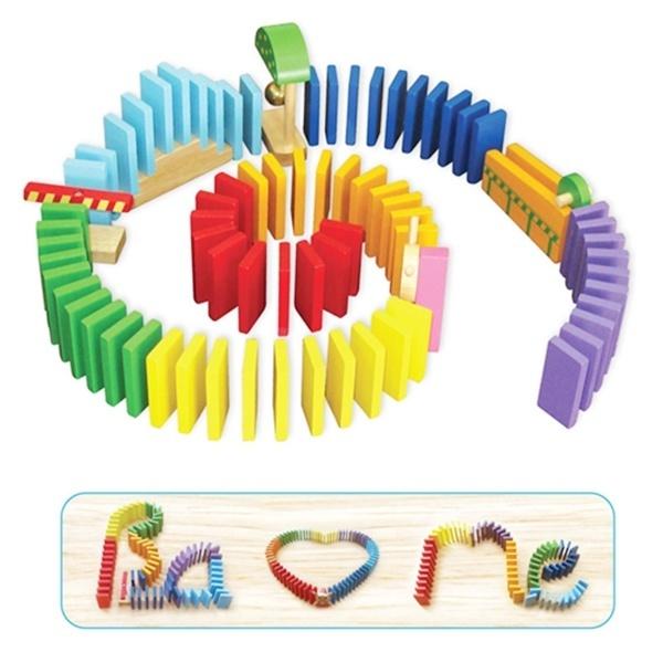 Đồ chơi gỗ - Trò chơi xếp Domino 68222