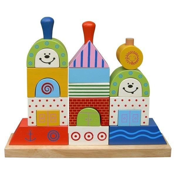 Đồ chơi gỗ - Xếp hình chiếc thuyền 61162