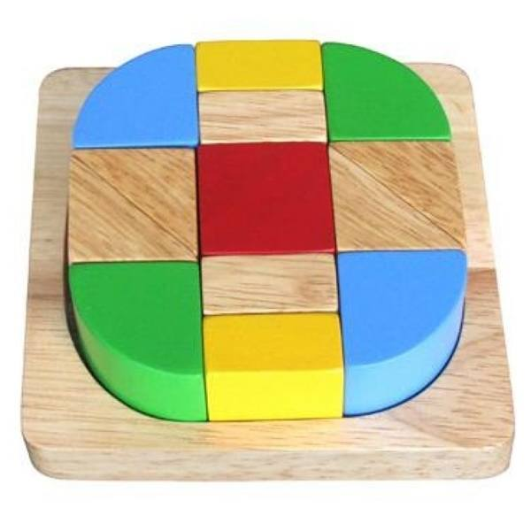 Đồ chơi gỗ - Xếp hình sáng tạo 68172