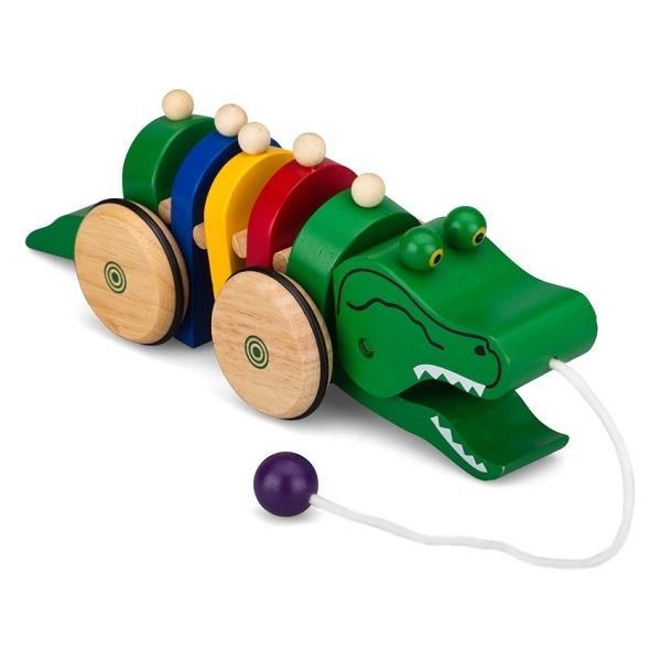Đồ chơi gỗ - Cá Sấu 66252