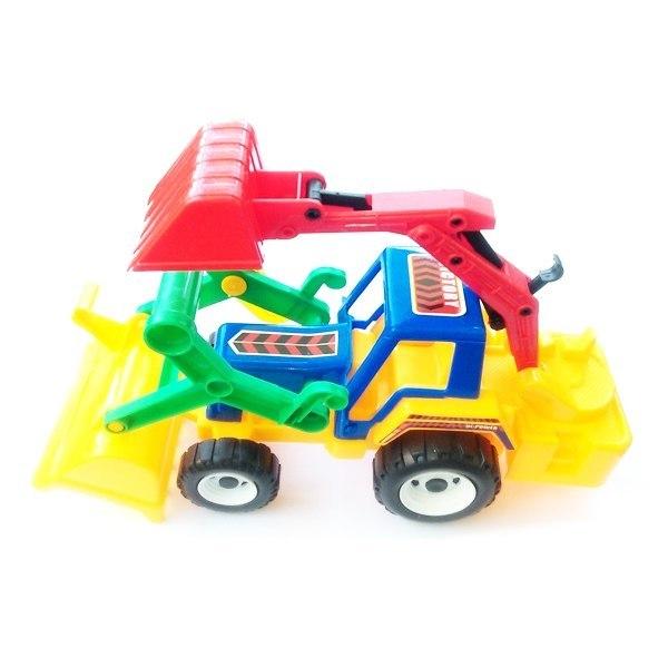 Đồ chơi nhựa - Xe ủi xúc 8755A