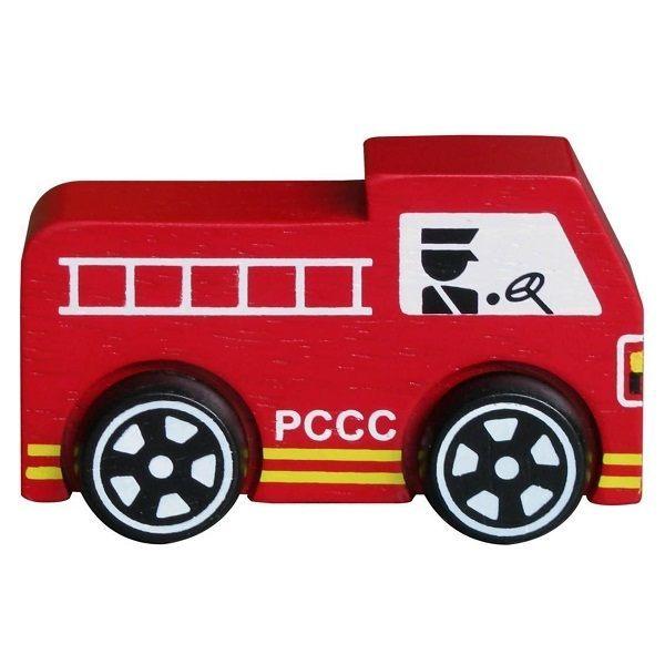 Đồ chơi gỗ - Xe cứu hỏa