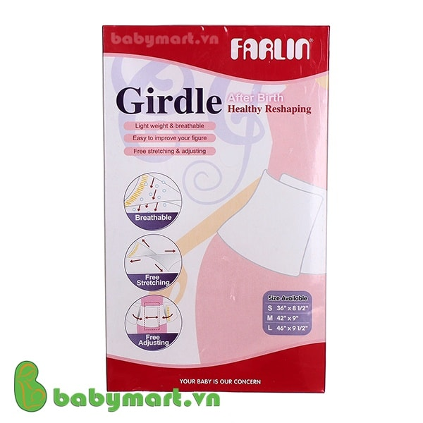 Gen nịt bụng sau sinh Farlin size M
