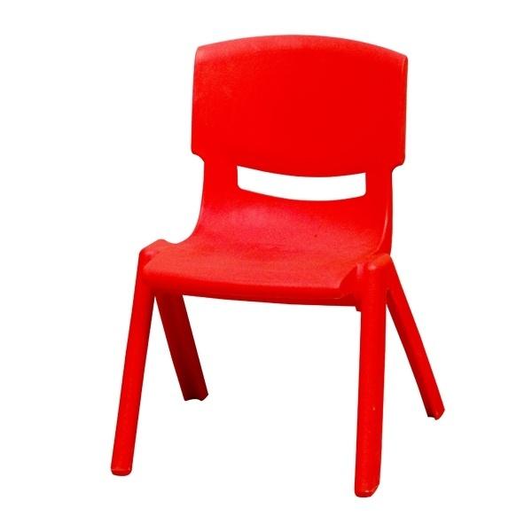 Ghế dựa mầm non màu đỏ