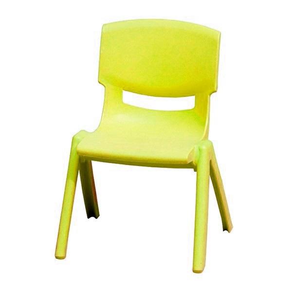 Ghế dựa mầm non màu vàng