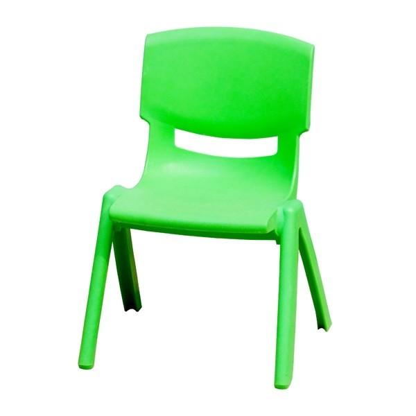 Ghế dựa mầm non màu xanh lá