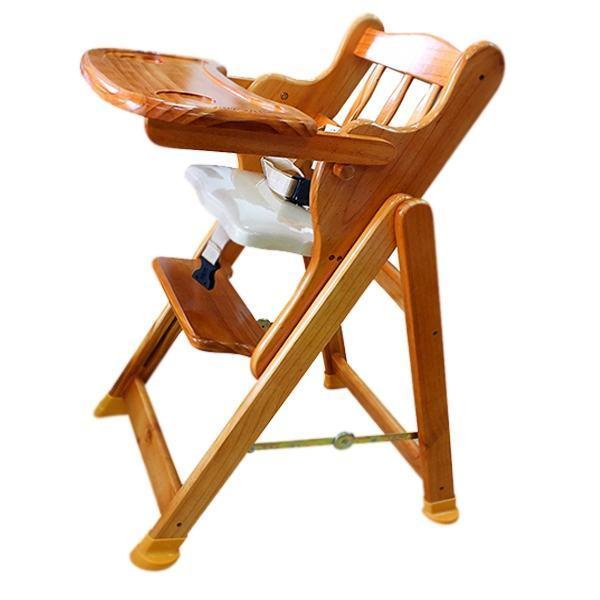 Ghế gỗ ăn bột Autoru - điều chỉnh 4 độ cao