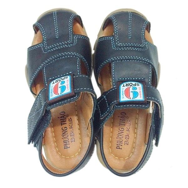Giày da sandal cho bé trai