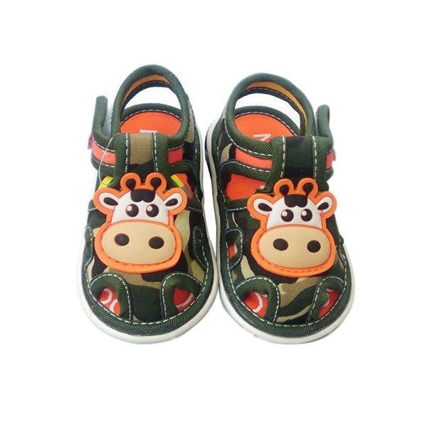 Giày sandal cho bé trai quai lính