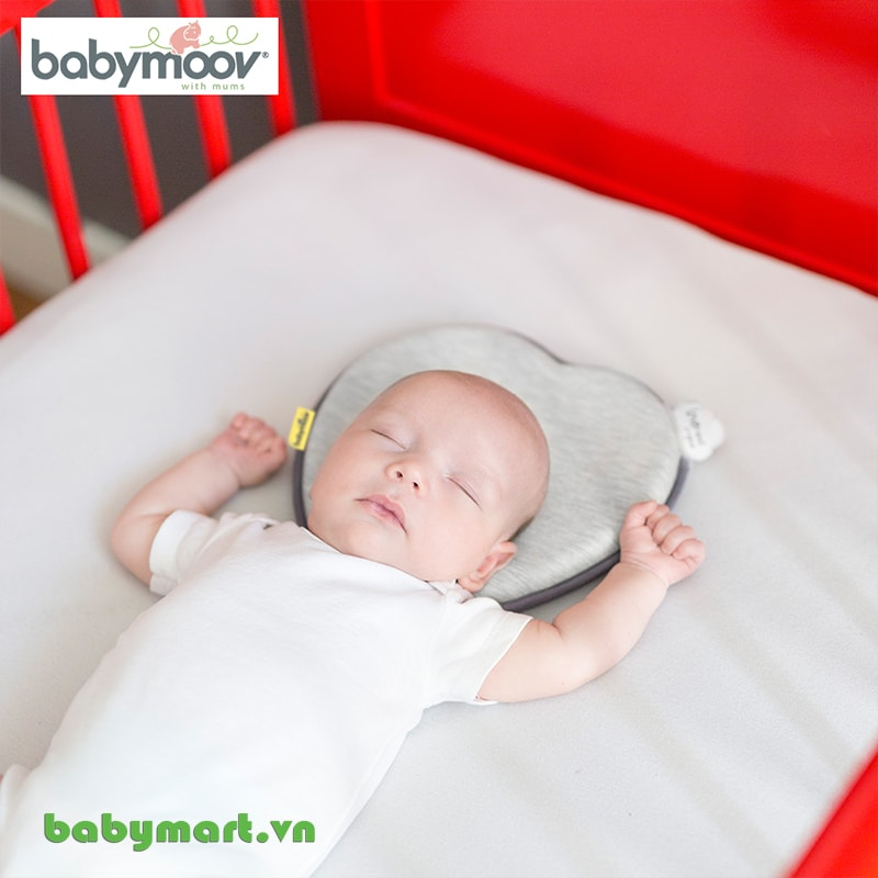 Gối chống bẹt đầu Lovenest Babymoov ghi