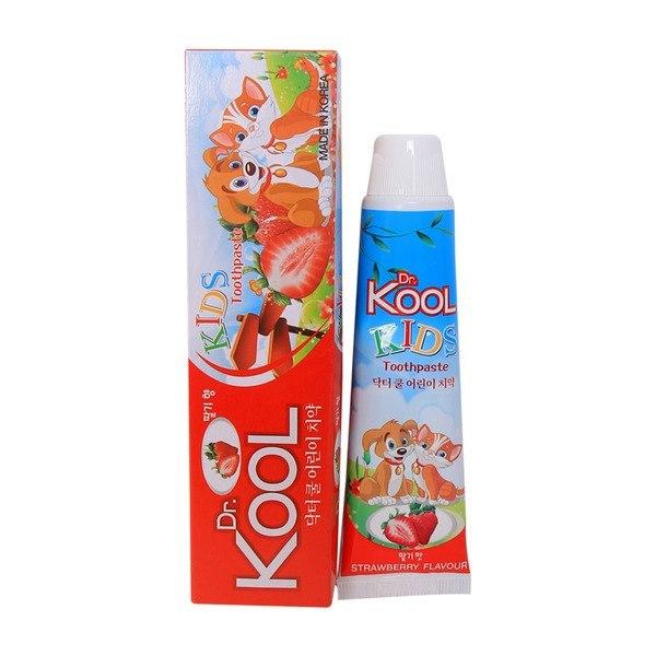 Kem đánh răng Dr Kool hương dâu cho bé