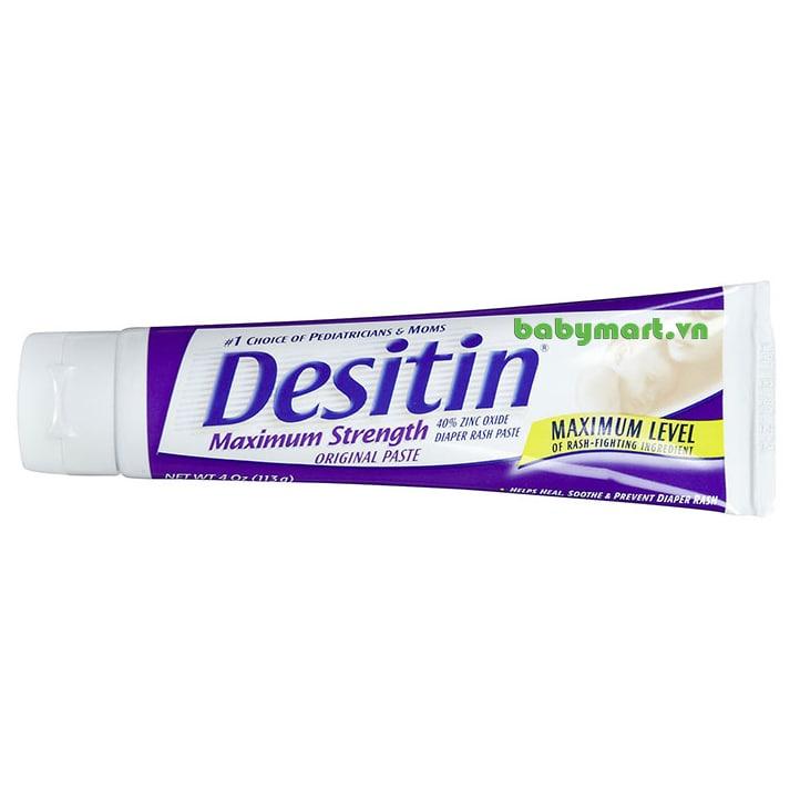 Kem trị hăm Desitin tím 113gr