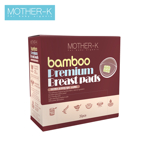Lót thấm sữa sợi tre Mother-K (32c)