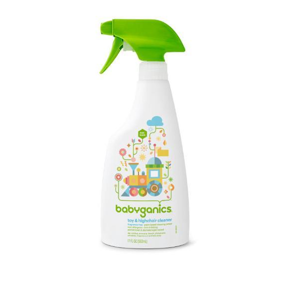 Nuớc rửa đồ chơi Babyganics 502ML