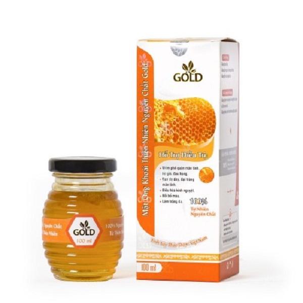 Mật ong khoái thiên nhiên nguyên chất Gold 100ml