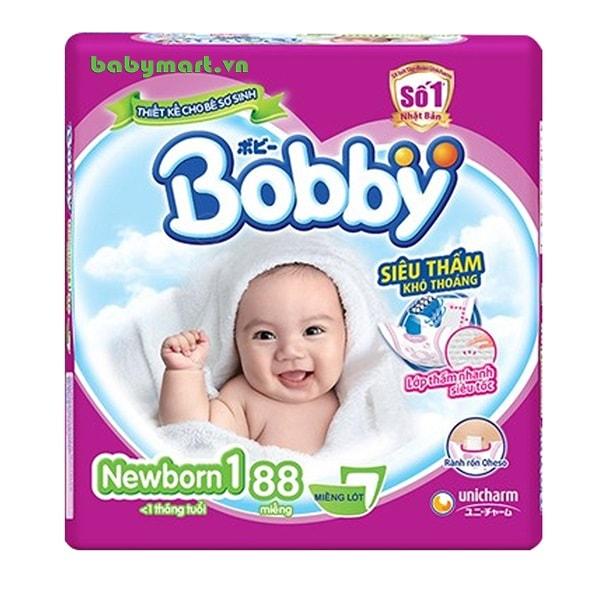 Miếng lót Bobby Newborn 1 88 miếng