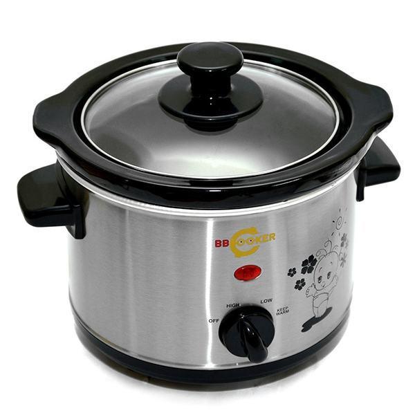 Nồi nấu thức ăn cho bé BBCooker 1500ml