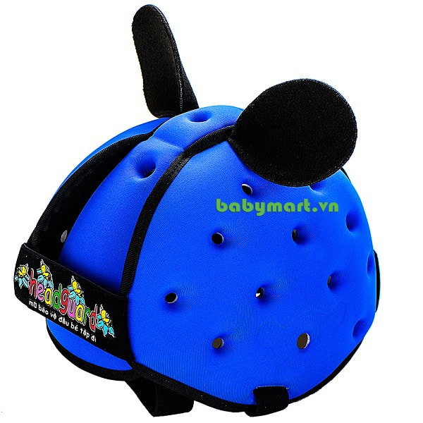 Nón mũ bảo hiểm cho bé Headguard xanh dương