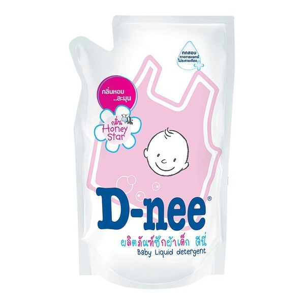 Nước giặt xả Dnee gói hồng 600ml