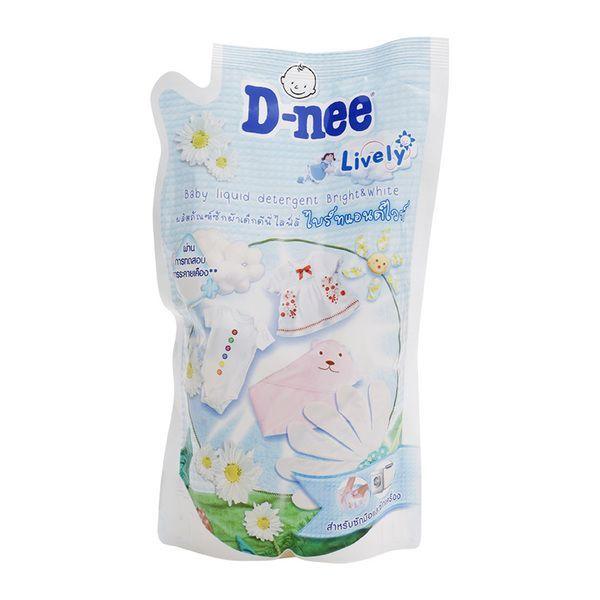 Nước giặt xả Dnee gói trắng 600ml